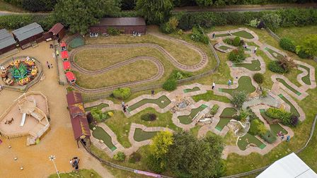 Mini Adventure Golf at Wroxham Barns Picture: Supplied by Wroxham Barns