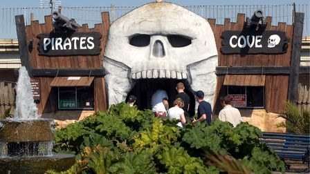 Pirates Cove Adventure Golf in Great Yarmouth Picture: Bill Smith