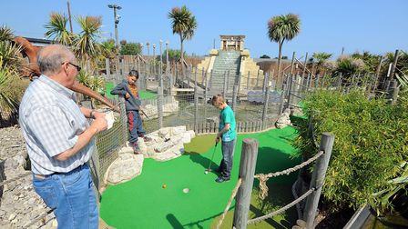 The Lost World Adventure Golf course in Hemsby. Picture: James Bass