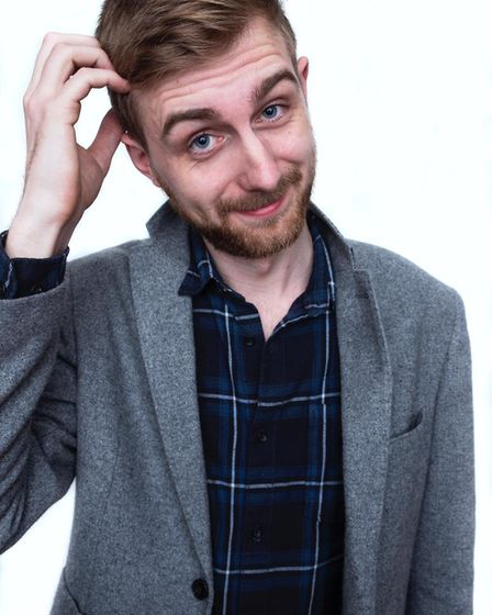 Norwich comedian and Hooma Comedy founder Martin Westgate. Picture: Supplied by Hooma Comedy