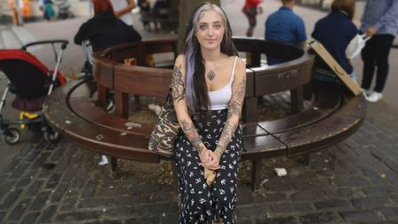 Elsie Vonova, 27, from Earlham Road in Norwich. Picture: Ruth Lawes