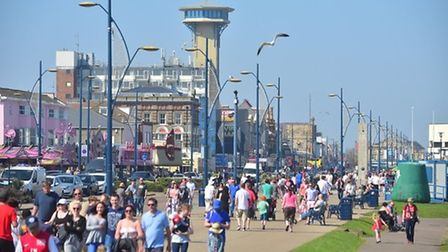 Tourism bosses hope to see large crowds enjoying the sunshine in resorts like Great Yarmouth. Pictur