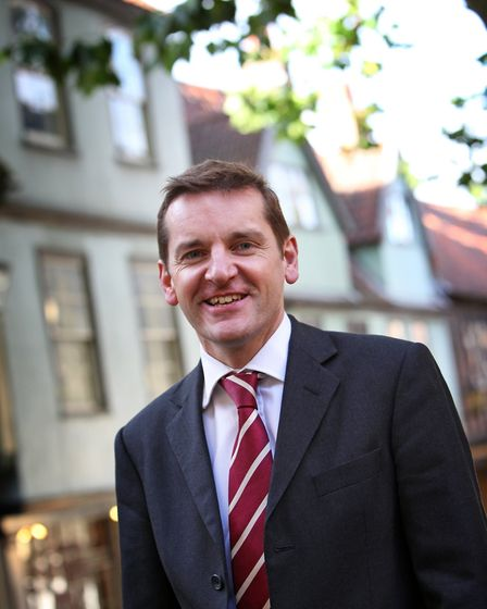 Peter Waters, executive director of Visit East of England. Picture: Keiron Tovell