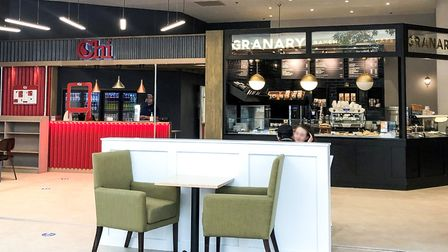 Chi and Granary, which have both opened under the same owners at Chapelfield in Norwich. Picture: in