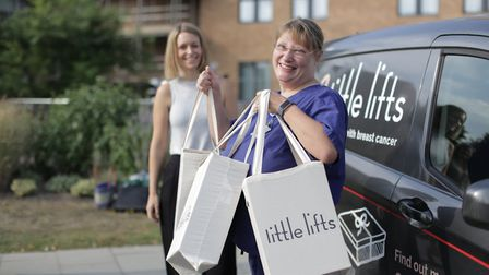 Oa Hackett (founder of littlelifts is celebrating the milestone of delivering 1,000 comfort boxes. P