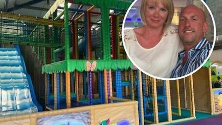 Monsters soft play area in Diss is set to close after 16 years, pictured are owners Greg and Kathlee