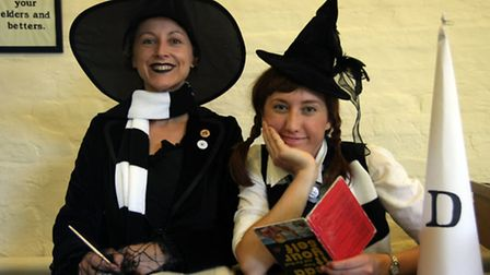 Helga and Ermintrude at Ghostly Gressenhall