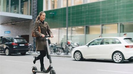 A bid has been lodged to trial rental e-scooters in Norwich. Picture: Getty Images