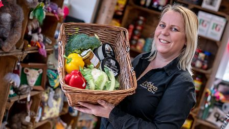 The pub shop at The Tuddenham Lodge opened in 2019 and has provided a lifeline for locals Picture: M