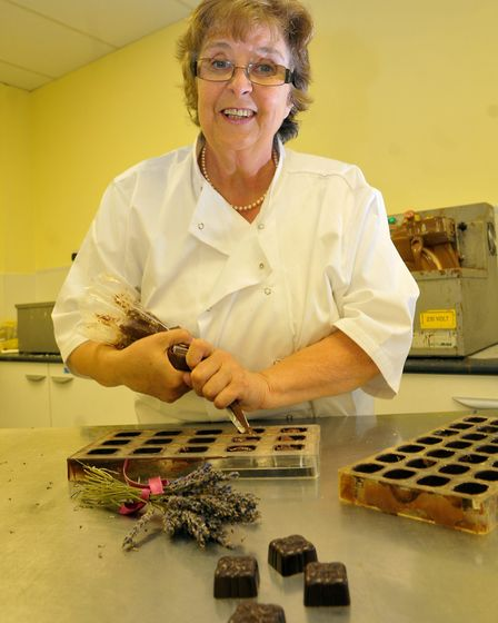 Angela Ruthven, who is relocating her chocolate business into the Royal Arcade. This photo was taken