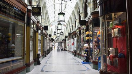 Is the Royal Arcade finally on the up? Pic: Archant