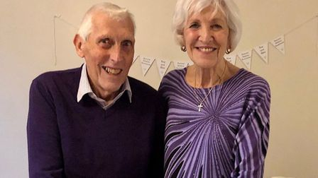 Albie and Rosemary Barrett celebrated their 60th wedding anniversary in 2019. Picture: Alison Sheffi