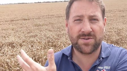 """Fenland farmer Tom Clarke is one of 26 national case studies in an NFU publication named """"Doing Our"""