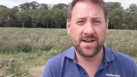 Fenland farmer Tom Clarke is one of 26 national case studies published by the NFU to show how farmer