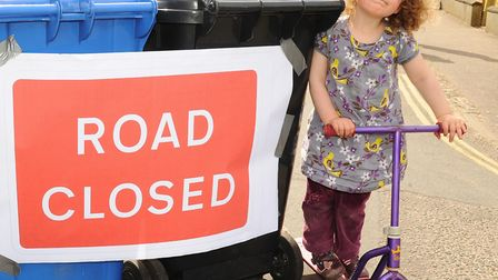 Flashback to a Street Play closure in Sandringham Road in Norwich in 2013. Picture: Denise Bradley