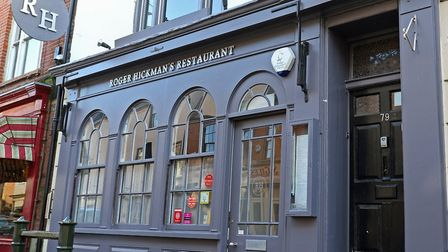 Roger Hickman's restaurant in Norwich. Pic: Archant
