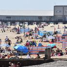A busy south Lowestoft beach as thousands flocked to the east coast recently. Picture: Mick Howes