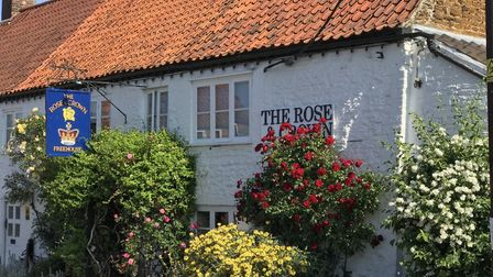 The Rose & Crown in Snettisham dates back to the 14th Century. Picture: AWPR