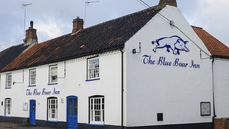 The Blue Boar Inn is a 17th Century country inn Picture: Matthew Usher.