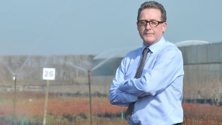 Paul Hammett, water expert from the National Farmers' Union (NFU). Picture: Sarah Lucy Brown