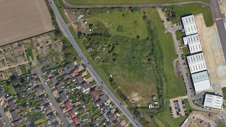 The proposed site for the new depot off Holt Road. Pic: Google Street View.