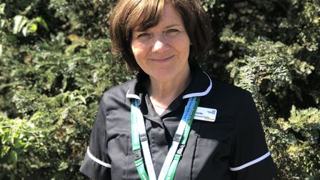 Carolyn Fowler, director of nursing at the Norfolk Community Health and Care Trust. Picture: NCHC