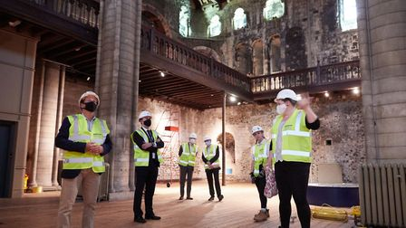 Project Manager Hannah Jackson explains Norwich Castles Gateway to Medieval England redevelopment to