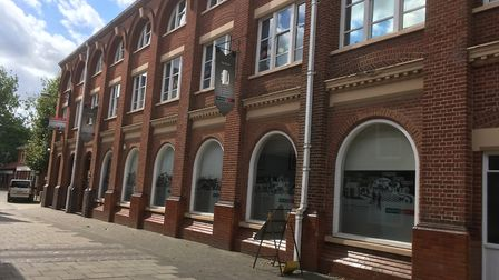The Atrium on Merchant's Court in Norwich, which could be partially turned into flats. Picture: Arch