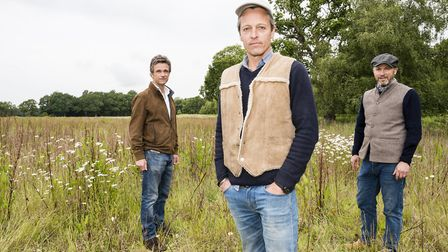 The WildEast movement will feature on BBC One's Countryfile show on Sunday, August 23. Pictured (fro
