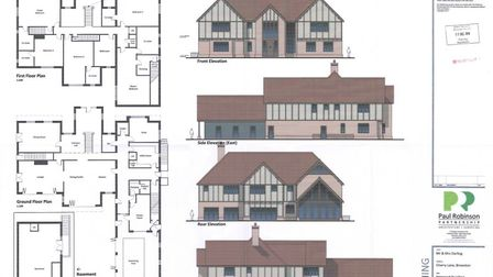 The five-bedroomed 'mansion' as described by councillors. Photo: Paul Robinson Partnership