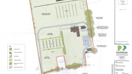 The site grounds as proposed by the applicant. Photo: Paul Robinson Partnership