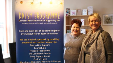 The Daisy Programme, which supports local people who have experienced domestic abuse, is to receive