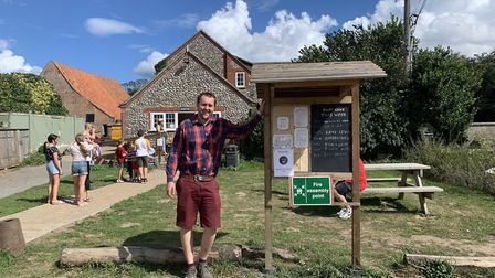 Will Amies is part of the family that runs Breck Farm, near Bodham, which has many holidaymakers cam