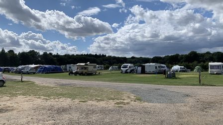 Breck Farm, near Bodham, is among many Norfolk campsites which have seen intense demand for pitches