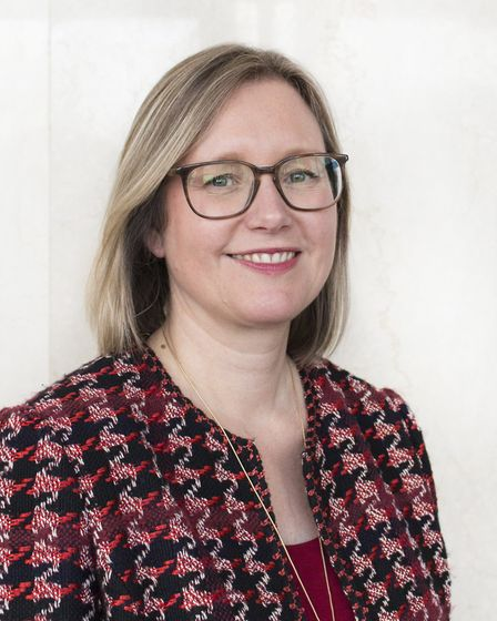 Dr Louise Smith, director of public health in Norfolk. Picture: Norfolk County Council