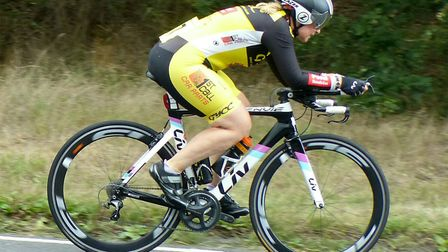 Jan Smith (Great Yarmouth CC) was fastest local lady Picture: Fergus Muir