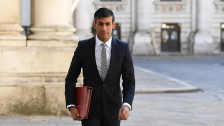Chancellor of the Exchequer Rishi Sunak arrives at the Foreign and Commonwealth Office (FCO) in Lond