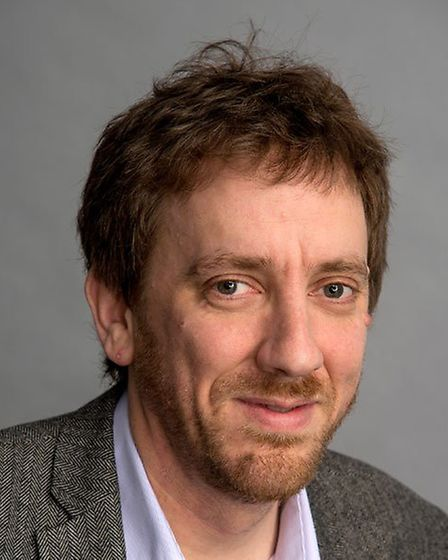 Director of the Earlham Institute, Prof Neil Hall. Photo: The Earlham Institute.