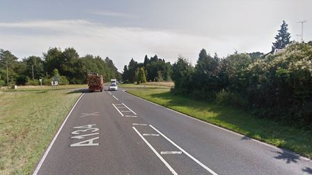 Norfolk police are at the scene of a rave in Thetford Forest off the A134 at Lynford. Picture: Googl