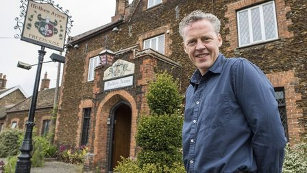 Working his magic: Iain Wison, of Wilson Development, pictured at the Ffolkes Arms, Hillington, whic