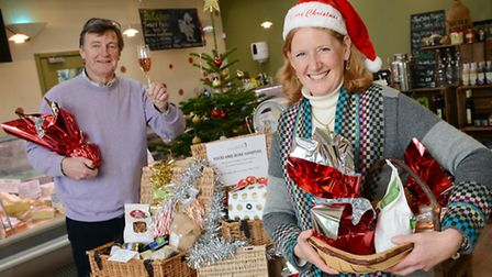 Creake Abbey are getting ready for a Christmas Farmers Market - Abbey Cafe owner Stephen Harrison wi
