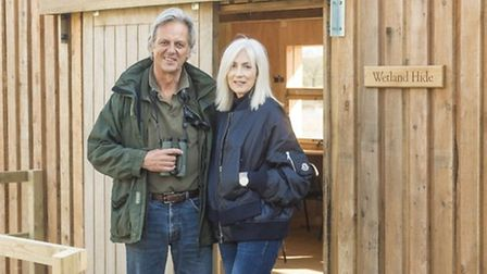 Bill and Deb Jordan, who own Pensthorpe Natural Park, have seen visitor numbers exceed expectations