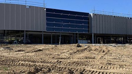 The new Porsche centre in Norwich is taking shape with the signage up. It is expected to open in Dec