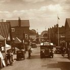 Quieter times on the local holiday beat at Wroxham in the early 1950s. Hats very much in fashion –