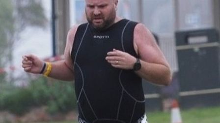 Daniel Clarkson from Hilgay will be taking part in a half iron man triathlon for west Norfolk charit