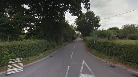 A motorcyclist has died following a crash involving a lorry on Mill Road in Burston, near Diss. Pict