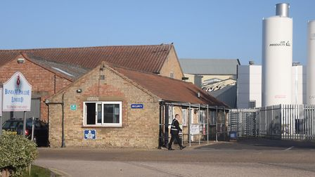 The Banham Poultry factory in Attleborough is at the centre of a coronavirus outbreak. Picture: DENI