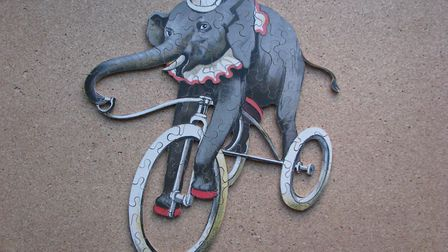 The Performing Elephant - a lovely puzzle by Holtzappfl Picture: Peter Day
