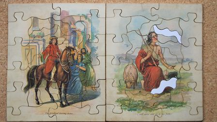 The Prodigal Son - a rare early puzzle from highly collectable Raphael Tuck Picture: Peter Day