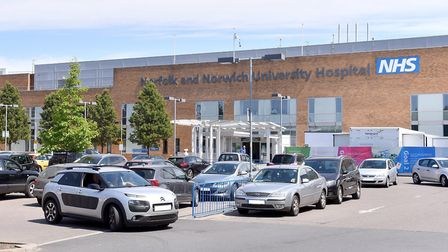 The Norfolk and Norwich University Hospital. Picture: NNUH